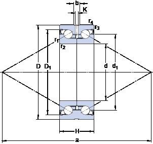 SKF BEAS 015045-2RZ Super Precision Bearings
