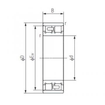 80 mm x 125 mm x 34 mm  NACHI NN3016 usual arrangements  Precision Bearings