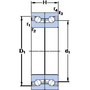 SKF BTM 130 ATN9/HCP4CDB Special Polyamide cage design Precision Bearings