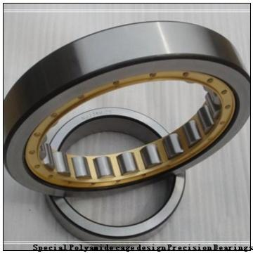 95 mm x 170 mm x 32 mm  SKF 7219 ACD/P4A Special Polyamide cage design Precision Bearings