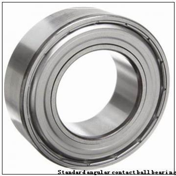 70 mm x 110 mm x 20 mm  NSK 70BER10X Standard angular contact ball bearing