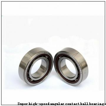 40 mm x 72 mm x 15 mm  FAG BSB040072-T Super high-speed angular contact ball bearings