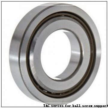 35 mm x 72 mm x 17 mm  SKF 7207 ACD/P4A TAC series for ball screw support