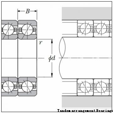 NACHI 71822 ACD/P4 Tandem arrangement Bearings
