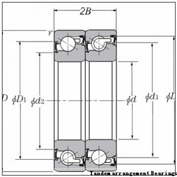 NSK Duplex angular contact ball bearing Tandem arrangement Bearings