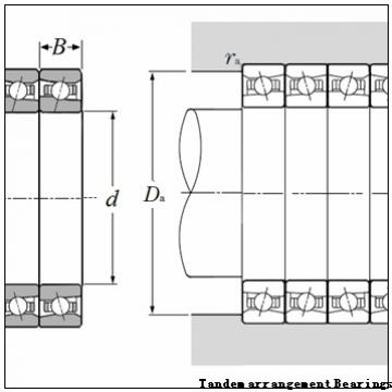 NSK 60TAB12DF(DB) Tandem arrangement Bearings