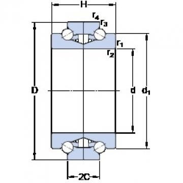 SKF BTW 65 CTN9/SP Special Polyamide cage design Precision Bearings