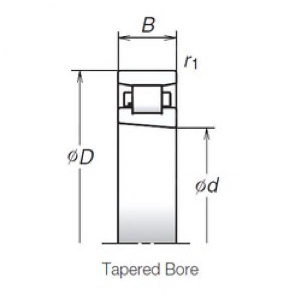 45 mm x 75 mm x 16 mm  NSK N1009MRKR Tandem arrangement Bearings #3 image
