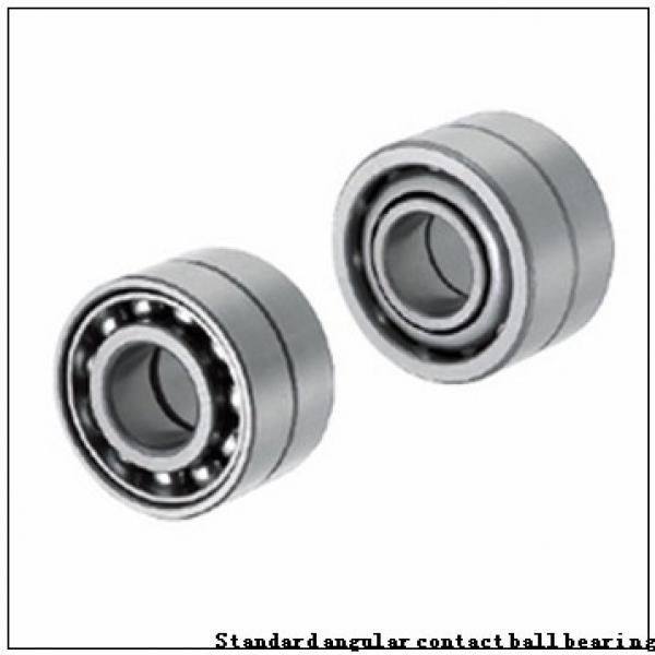 70 mm x 110 mm x 20 mm  SKF 7014 CB/HCP4A Standard angular contact ball bearing #1 image