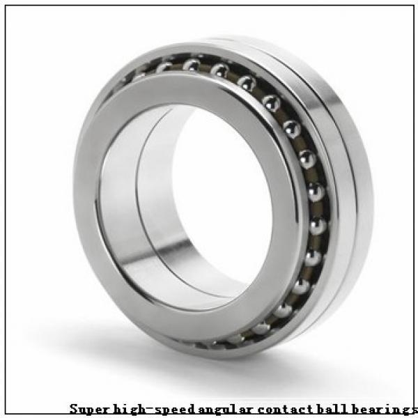 30 mm x 47 mm x 9 mm  NSK 30BER19X Super high-speed angular contact ball bearings #1 image