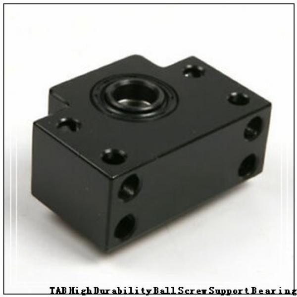 100 mm x 140 mm x 24 mm  NSK 100BER29SV1V TAB High Durability Ball Screw Support Bearing #1 image