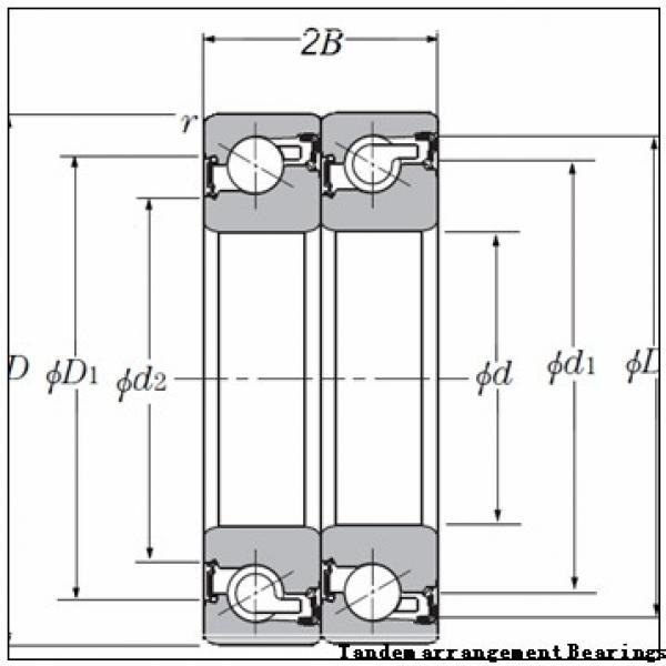 45 mm x 75 mm x 16 mm  NSK N1009MRKR Tandem arrangement Bearings #1 image
