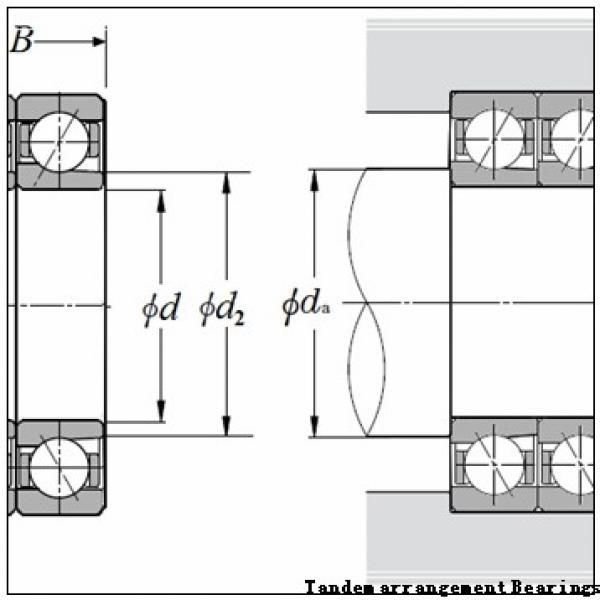 45 mm x 75 mm x 16 mm  NSK N1009MRKR Tandem arrangement Bearings #2 image