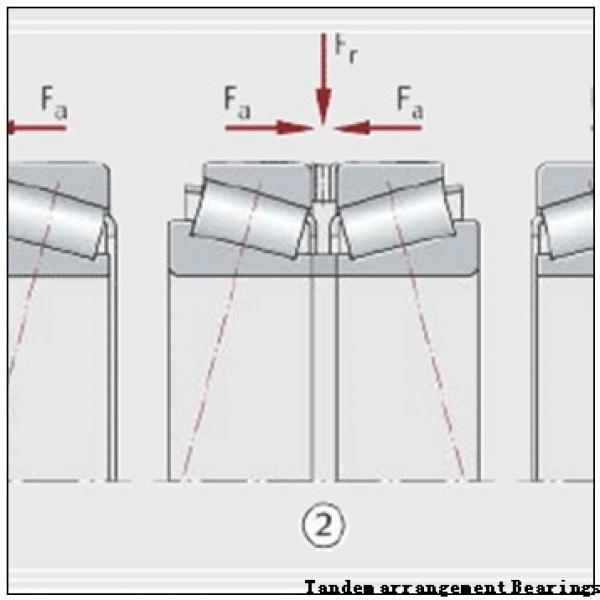 BARDEN Single-row cylindrical roller bearing Tandem arrangement Bearings #1 image