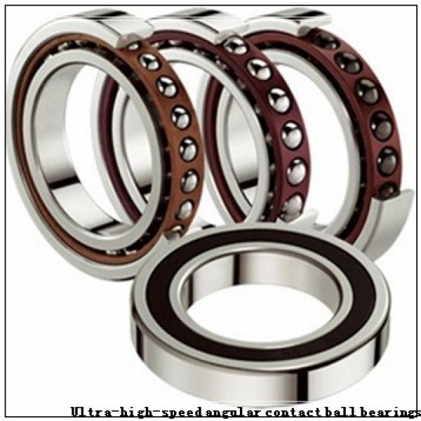 NTN 7909U Ultra-high-speed angular contact ball bearings #1 image